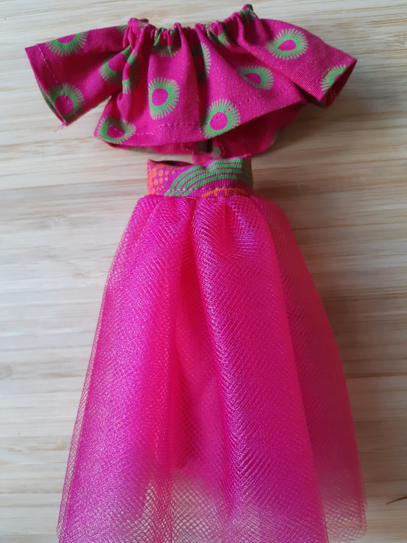 Pink Tutu skirt & Top