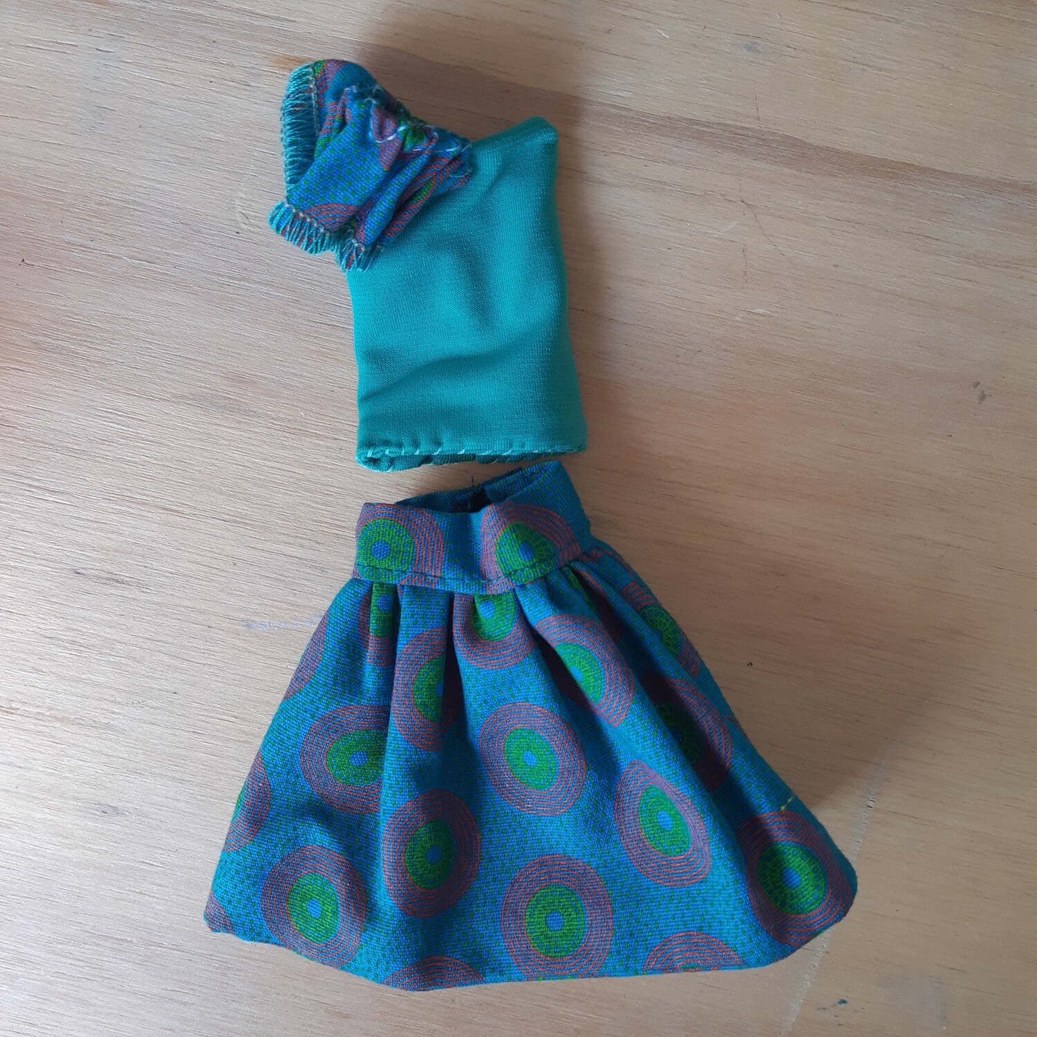 Funky One Arm Top with Skirt