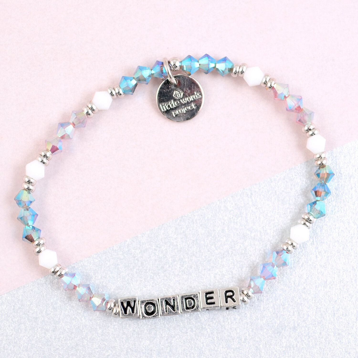 Little Words Project Silver WONDER Bracelet