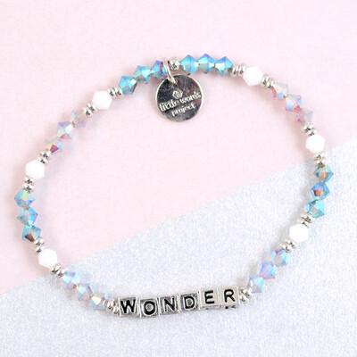 Little Words Project Silver WONDER Bracelet