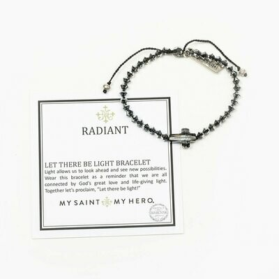 Radiant Let there Be Light Bracelet (Silver Night)