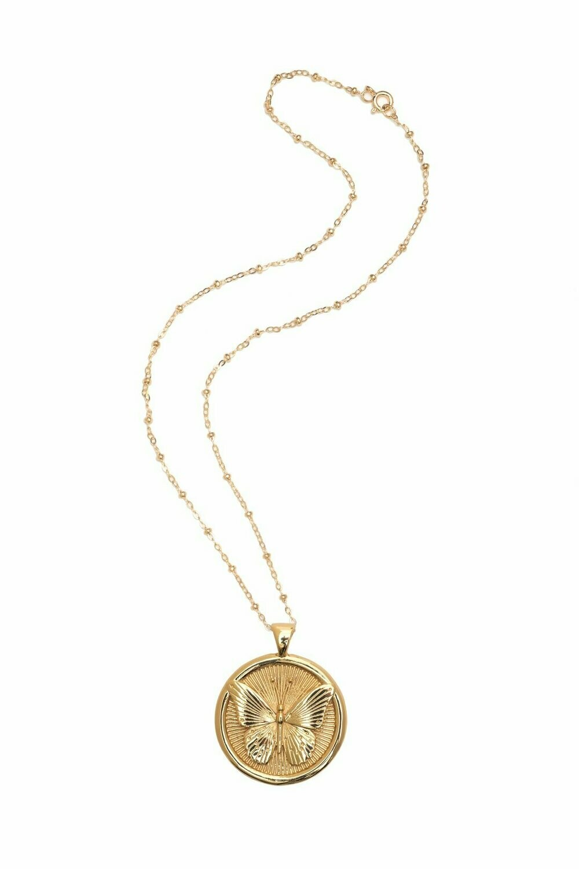 "Jane Winchester Original ""Free"" Coin Pendant"
