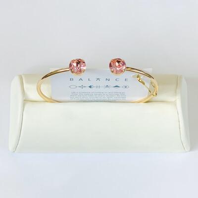 Balance Bracelet Gold/Light Rose