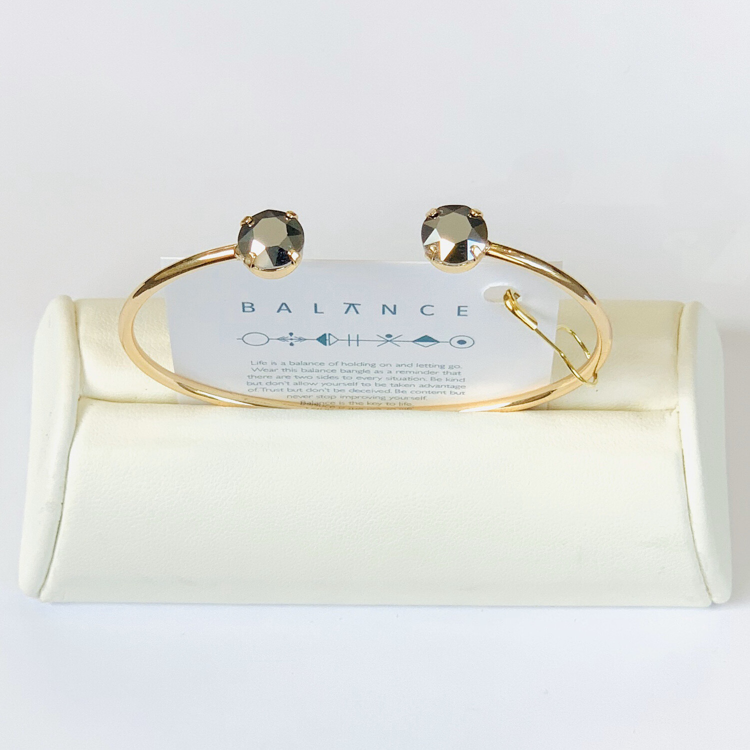 Balance Bracelet Gold /Light Chrome