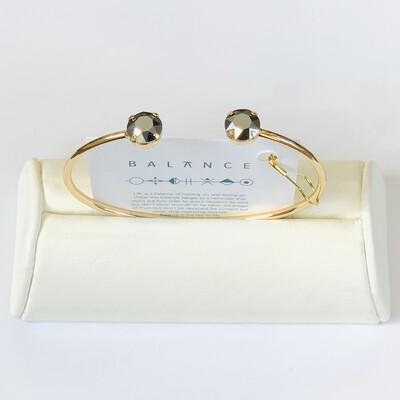Balance Bracelet Gold/Light Chrome