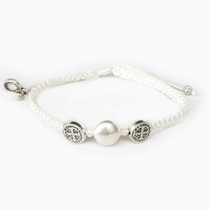First Holy Communion Blessing Bracelet (Silver)