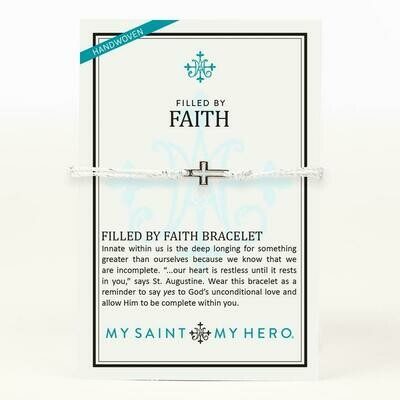 MSMH Filled By Faith Bracelet (Silver/Metallic Silver)