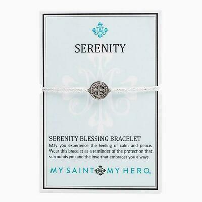 MSMH Serenity Blessing Bracelet (Silver/Metallic Silver)
