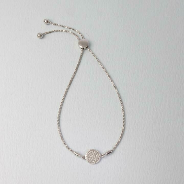 Ella Stein Right Round Bracelet (Silver)