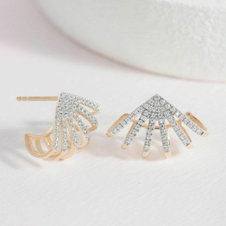 Ella Stein Branch Out Earrings (Gold)