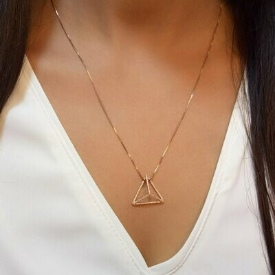 Ella Stein Prismatic Necklace (Gold)