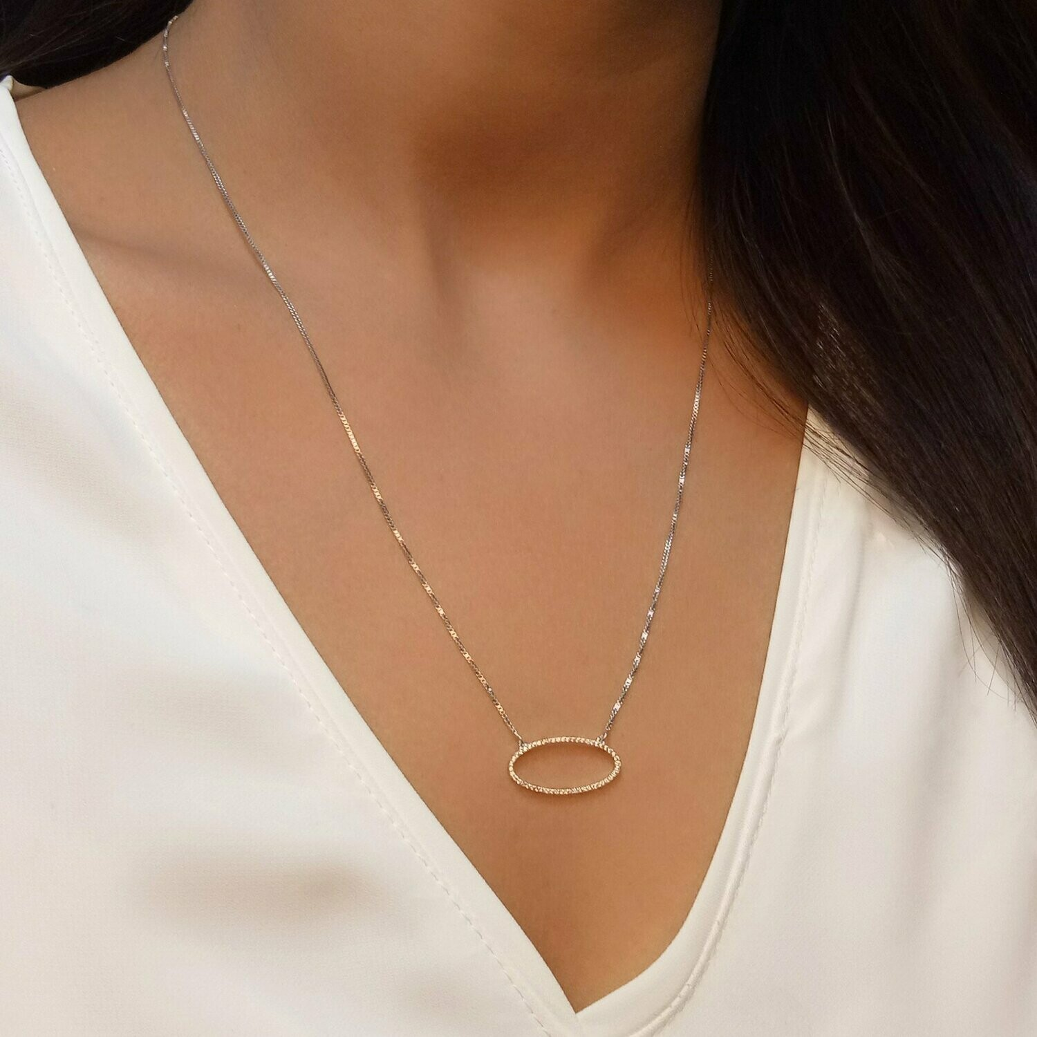 Ella Stein One With the Oval Necklace (Gold)