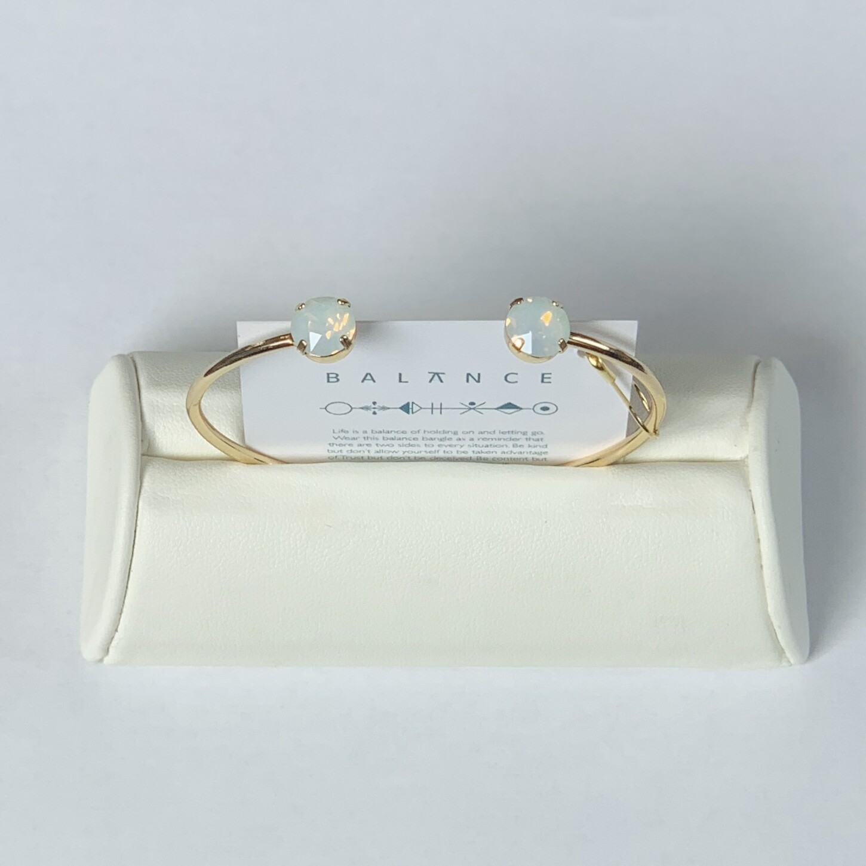 Balance Bracelet Gold/White Opal
