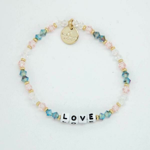 Little Words Project White LOVE Bracelet