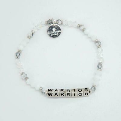 Little Words Project Silver WARRIOR Bracelet