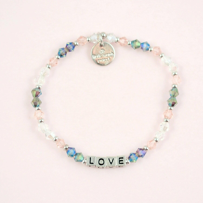 Little Words Project Silver LOVE Bracelet