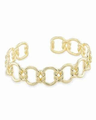 Kendra Scott Fallyn Cuff Bracelet in Gold