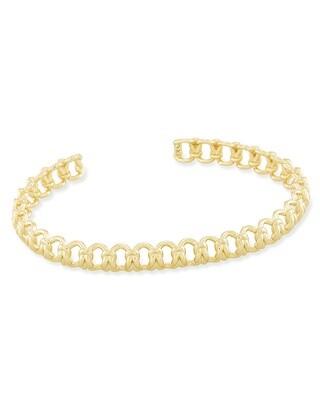 Kendra Scott Fallyn Small Cuff Bracelet in Gold