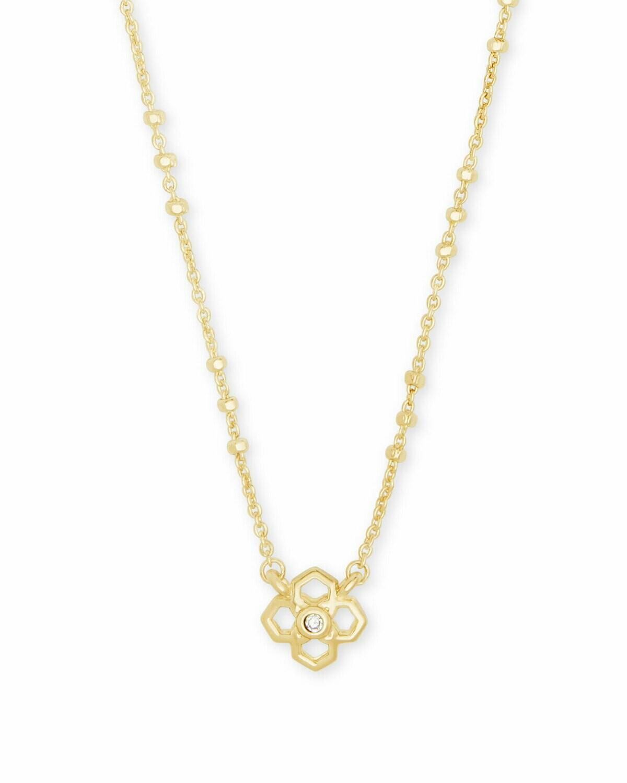Kendra Scott Rue Pendant Necklace in Gold