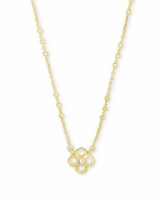 Kendra Scott Rue Pendant Necklace in Gold