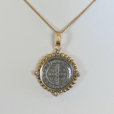 VSA Santa Monica San Benito Necklace, Gold