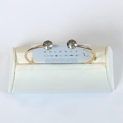 Balance Bracelet Gold/Silver Patina