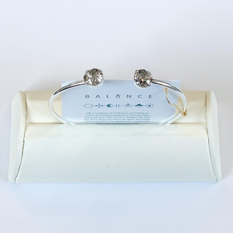 Balance Bracelet Silver/Silver Patina