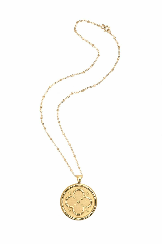 """Jane Winchester SMALL """"Love"""" Coin Pendant"""