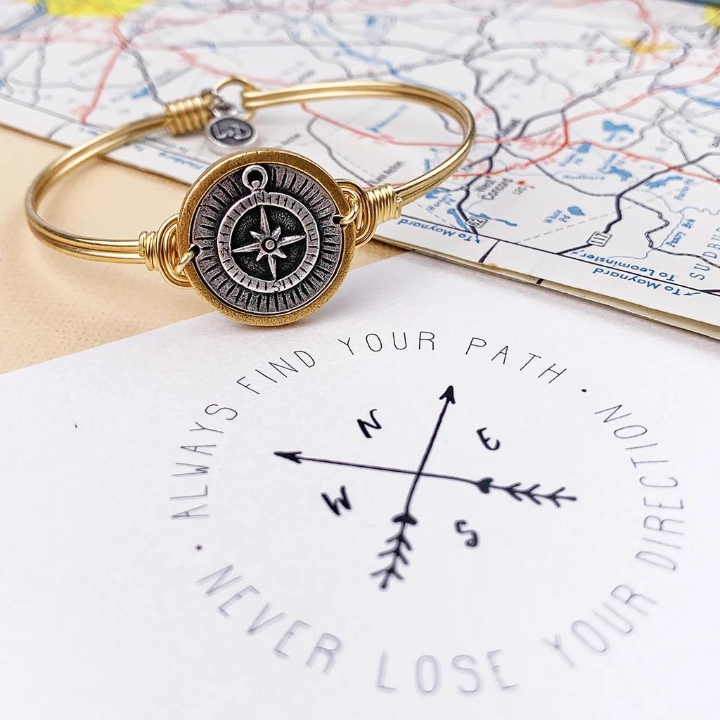 Luca + Danni Compass Bracelet