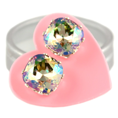 JoJo Loves You Topaz with Pink Cushion Bling