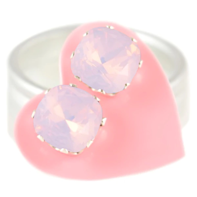 JoJo Loves You Pink Opal Cushion Blings