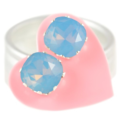 JoJo Loves You Blue Opal Cushion Blings
