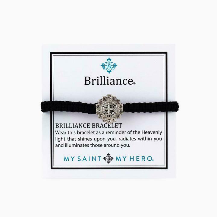 Benedictine Brilliance Bracelet (Silver/Black)