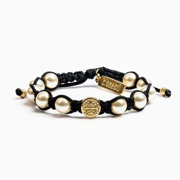 MSMH Divine Blessings Bracelet (Gold/Black)