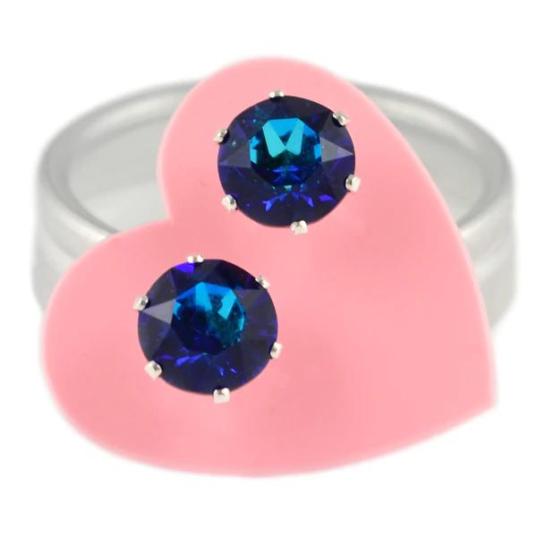 JoJo Loves You Bermuda Blue Mini Bling