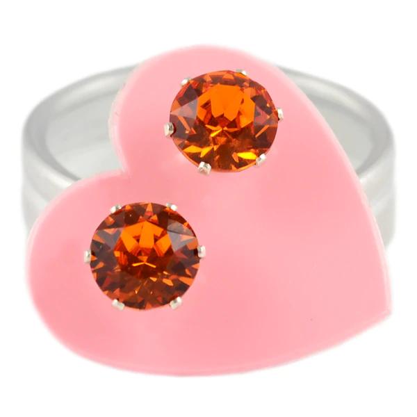 JoJo Loves You Tangerine Mini Bling