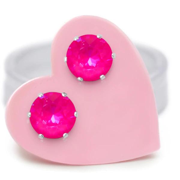 JoJo Loves You Neon Pink Mini Blings