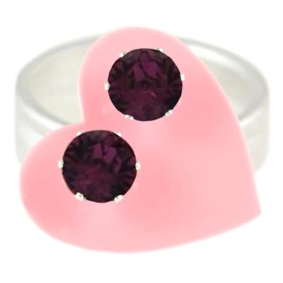 JoJo Loves You Dark Purple Mini Blings
