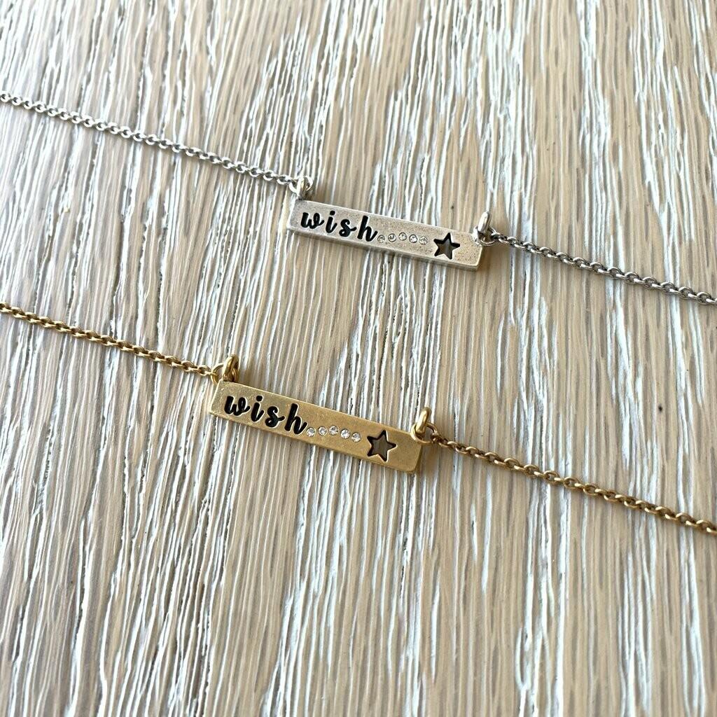 Universe Letters Wish Necklace