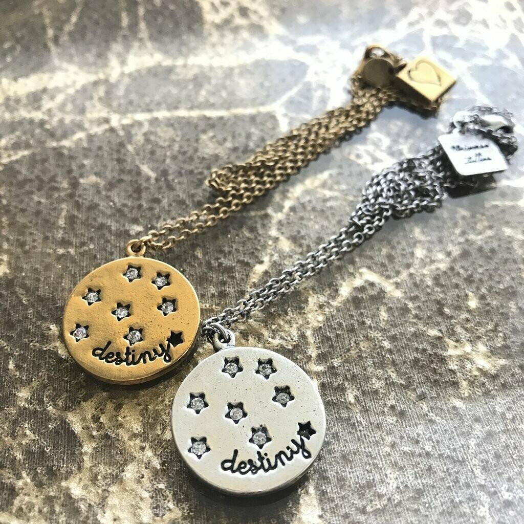 Universe Letters Destiny Necklace