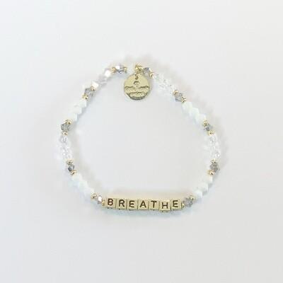 Little Words Project Gold BREATHE Bracelet