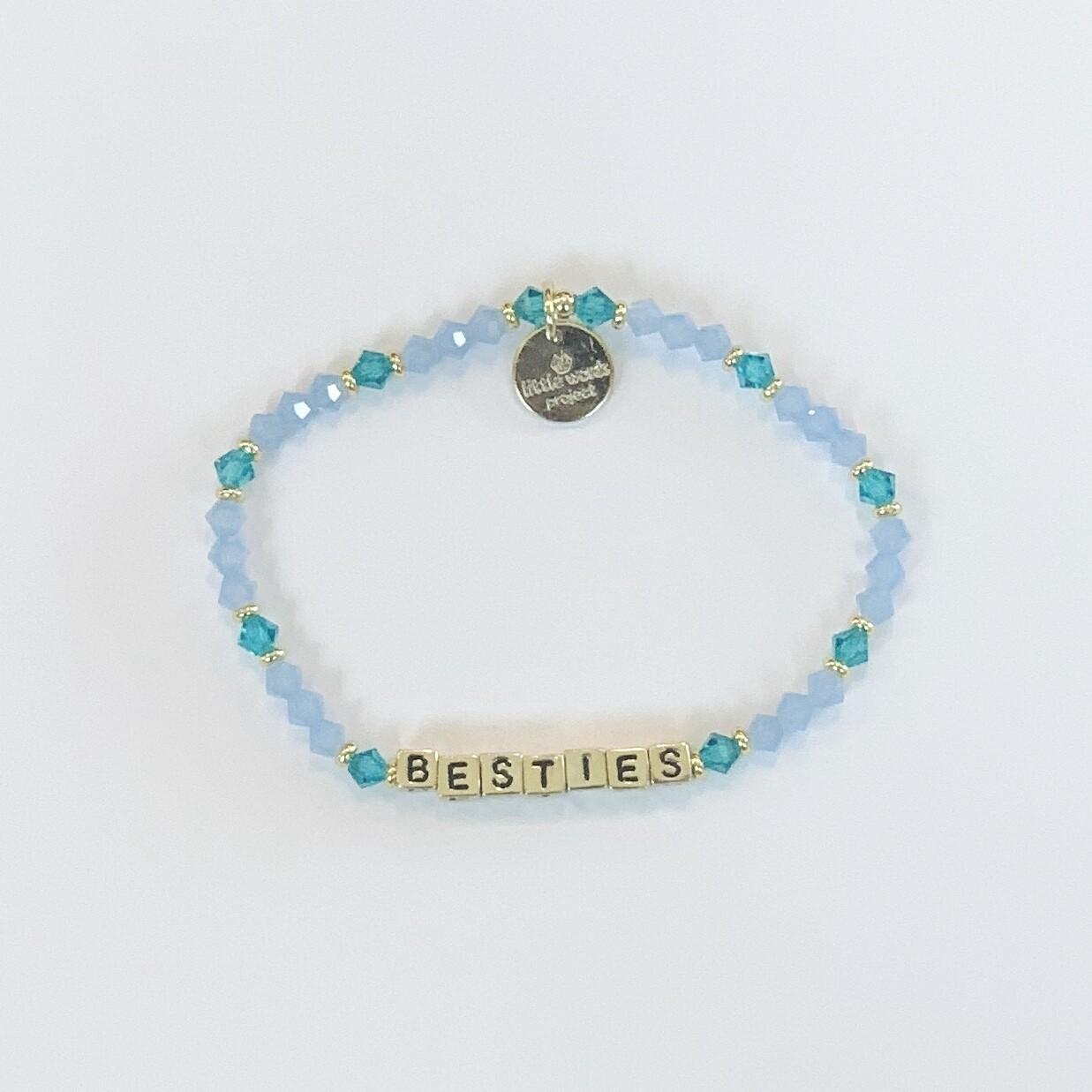 Little Words Project Gold BESTIES Bracelet