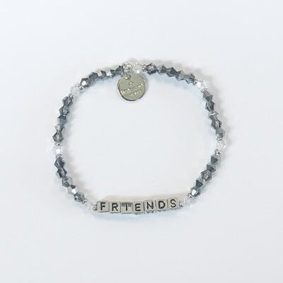 Little Words Project Silver FRIENDS Bracelet
