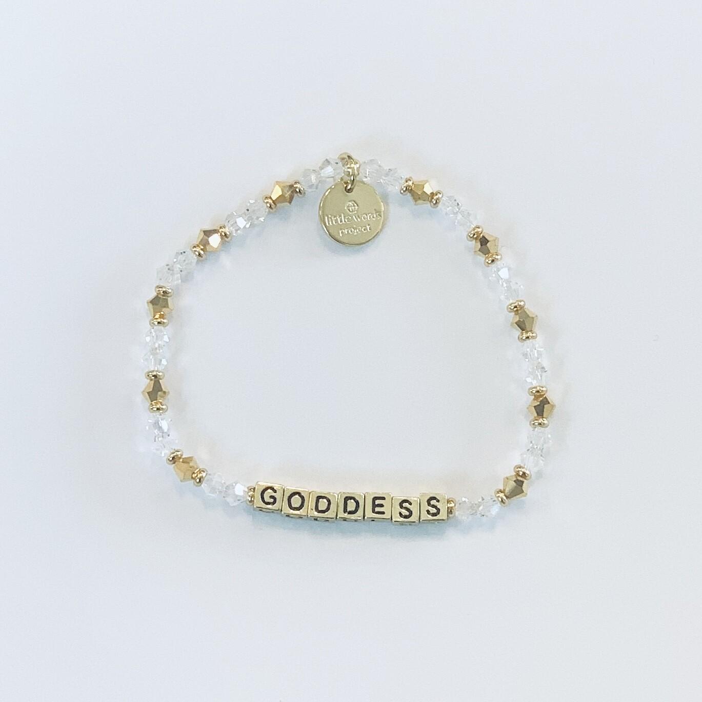 "Little Words Project Gold ""Goddess"" Bracelet"