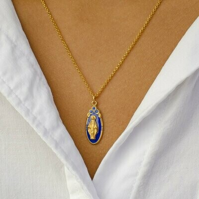 Luca + Danni Blessed Mother Necklace