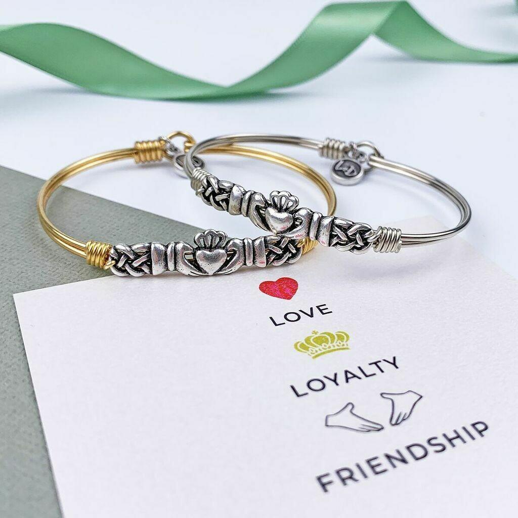 Luca + Danni Claddagh Bracelet