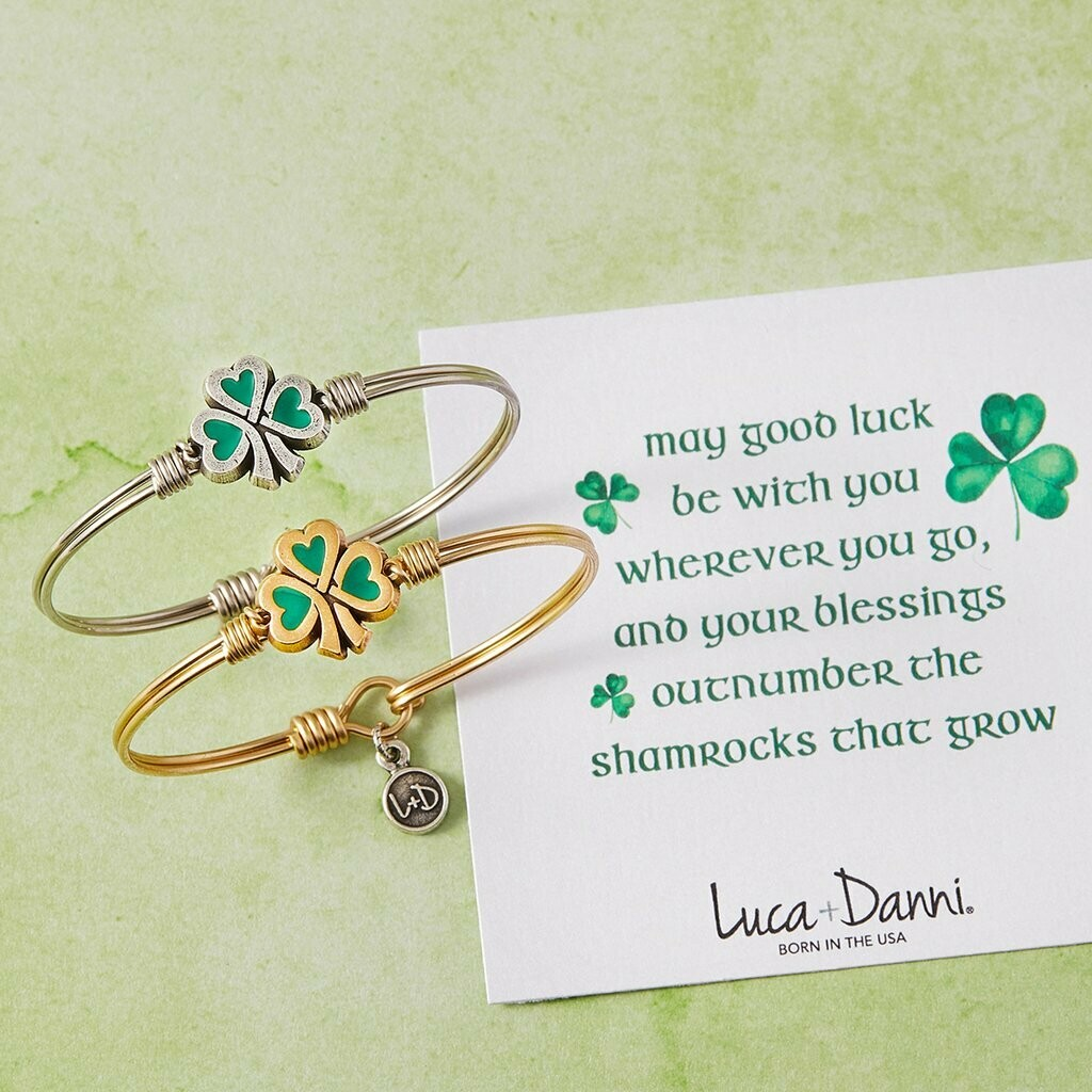 Luca + Danni Lucky Shamrock Bracelet