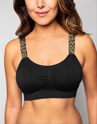 Black Leopard Bralette