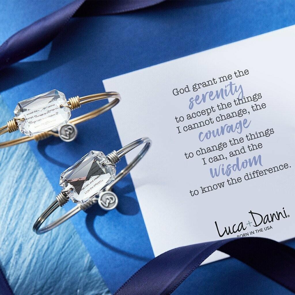 Luca + Danni Serenity Prayer Bracelet
