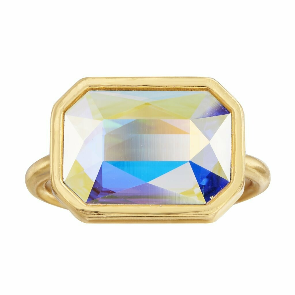 Luca + Danni Aurora Borealis Dylan Cocktail Ring (Gold)